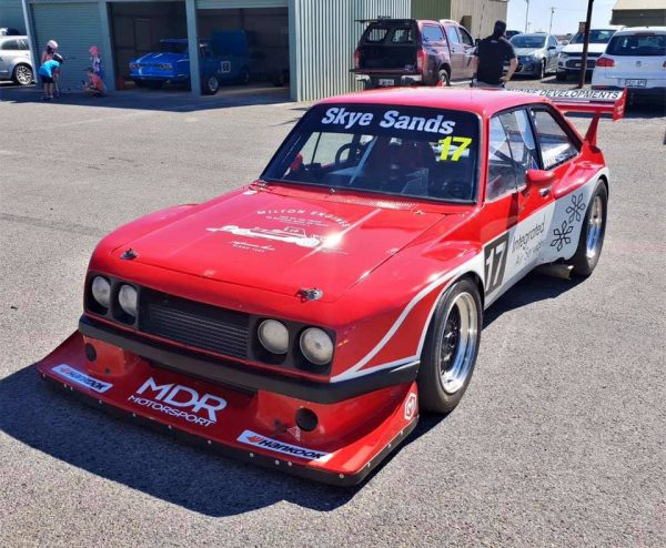 Ford Escort Mk2 with a Front Mid-Engine SR20DET