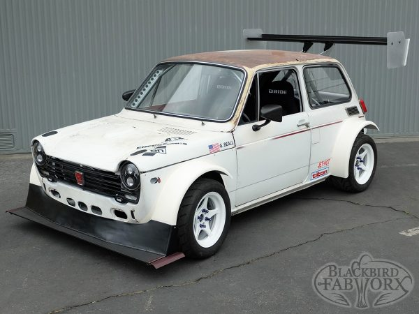 Honda N600 with a Mid-Engine CBR1000RR Inline-Four