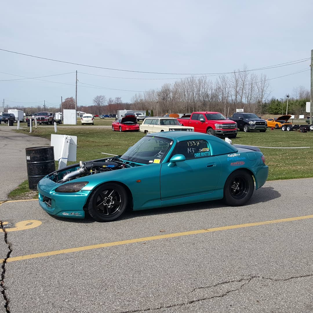Chris Boyette's S2000 with a Twin-Turbo J35 V6 Goes 7 74 sec