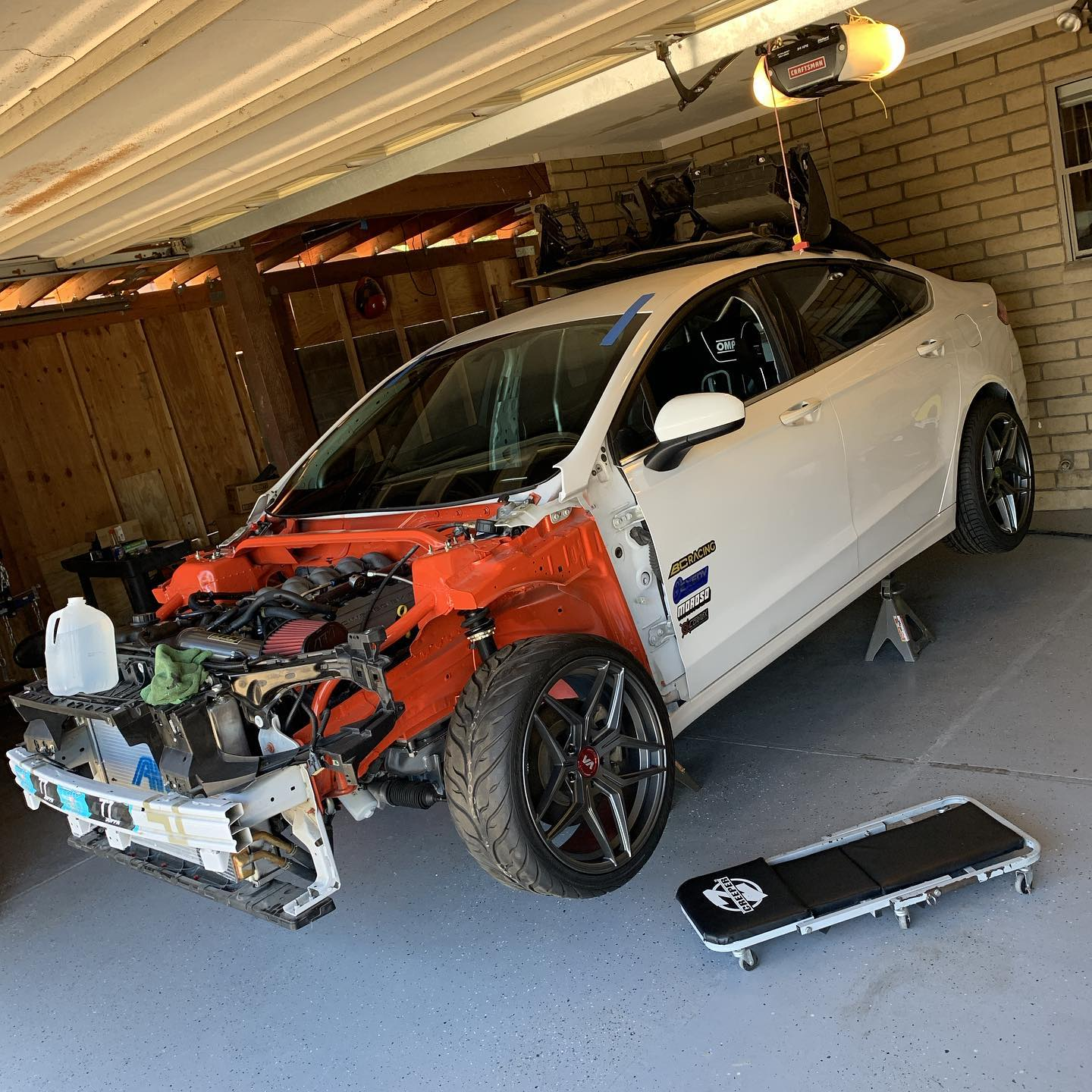 RWD 2016 Ford Fusion with a Coyote V8