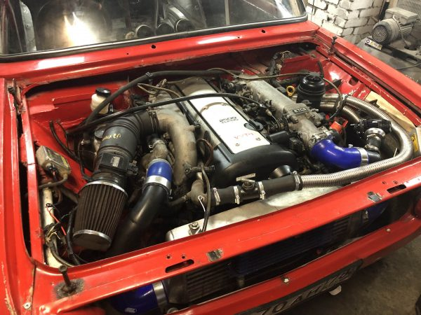 VAZ-2101 with a turbo 1JZ-GTE inline-six