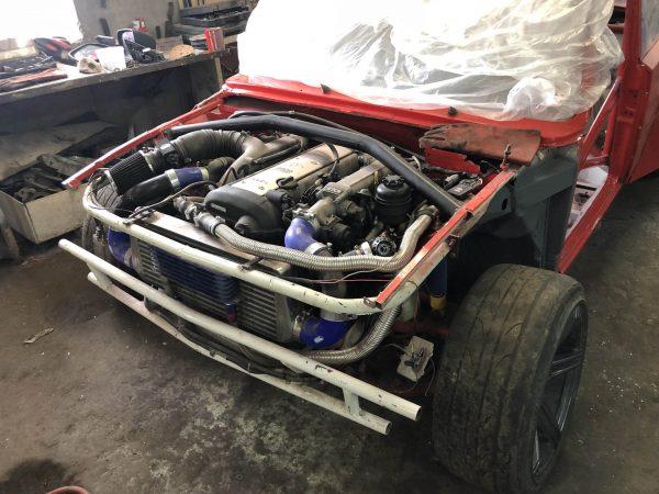 VAZ-2101 with a turbo 1JZ-GTE inline-six