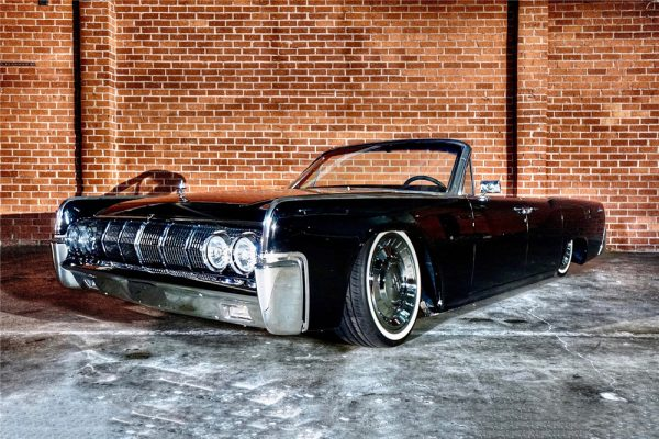 1964 Lincoln Continental Convertible with a Coyote V8