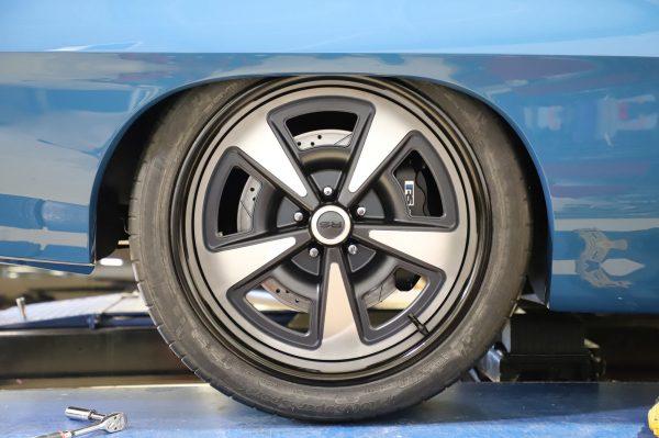 1971 Pontiac GTO with a supercharged LSX V8