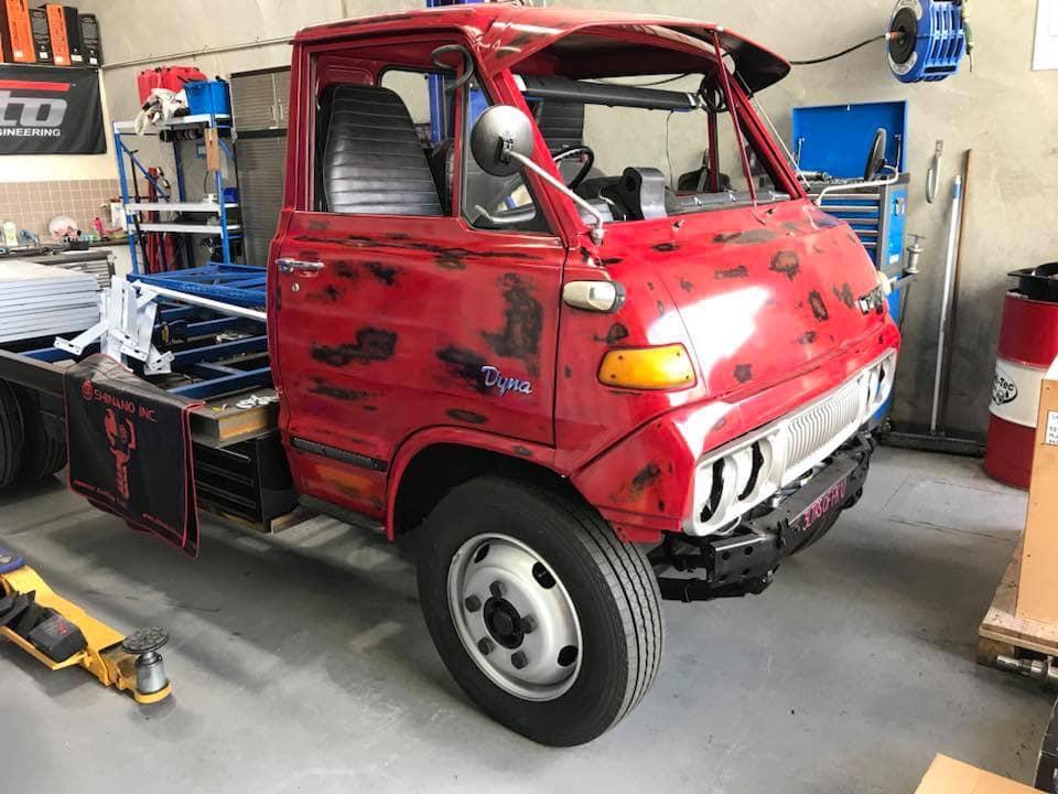 For Sale: 1977 Toyota Dyna with a 2JZ-GTE Inline-Six