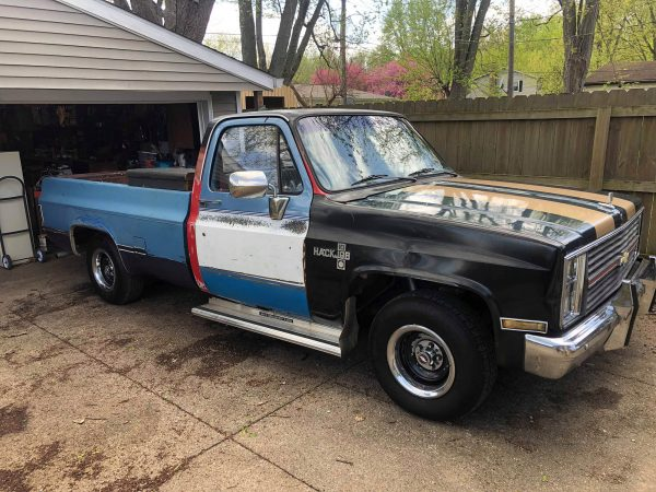 1985 Chevy C10 with a Vortec 4200 Inline-Six
