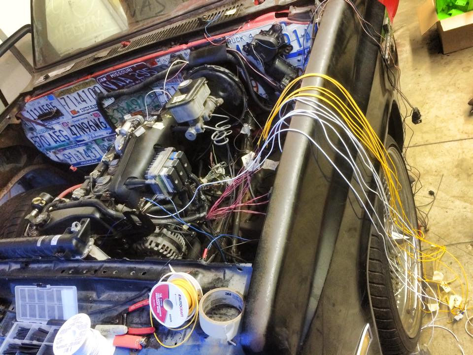 1985 Chevy C10 with a Vortec 4200 Inline-Six – Engine Swap ...