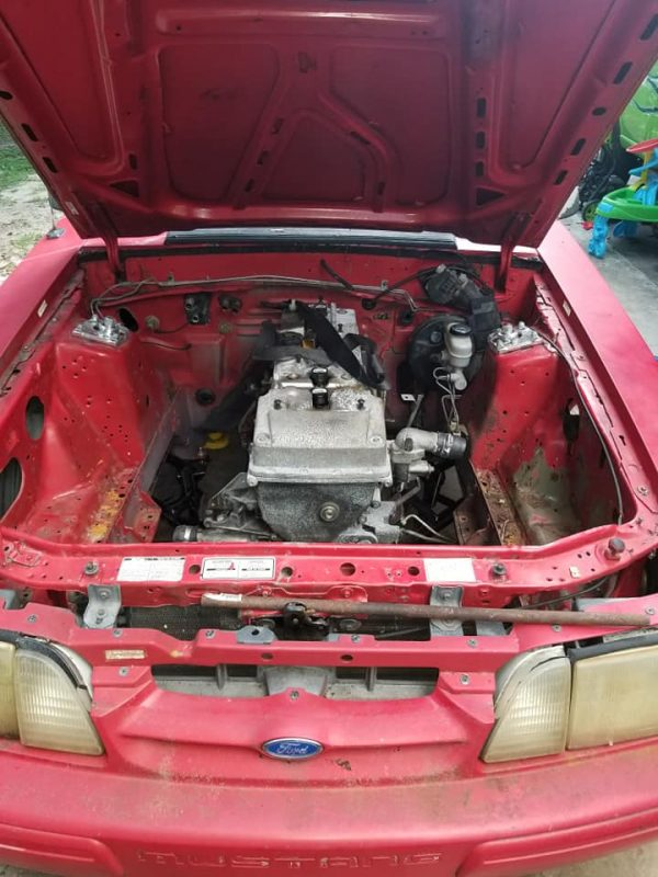 1993 Mustang with a turbo Barra inline-six