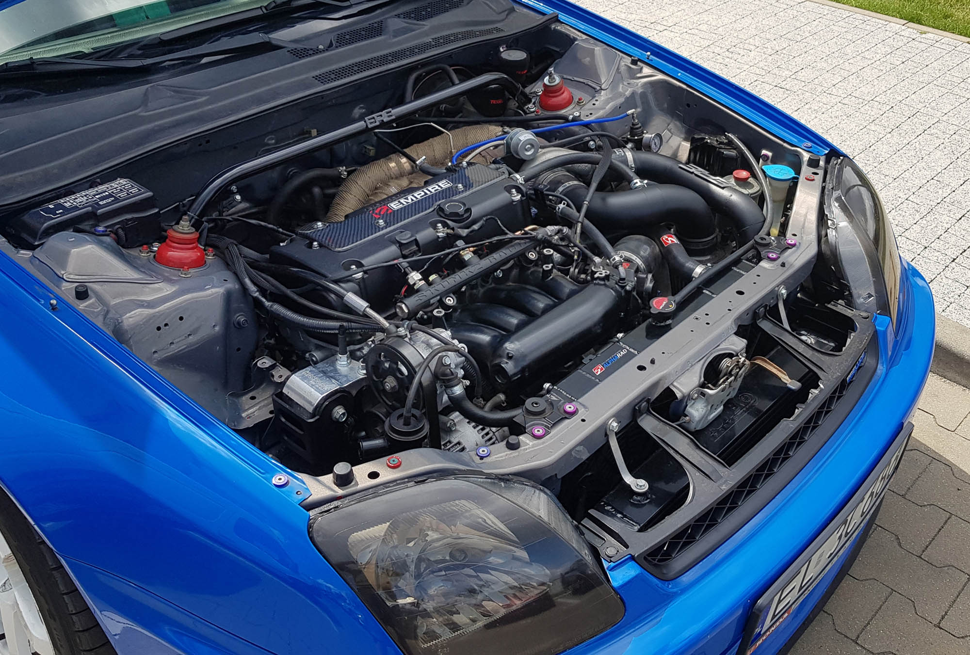 1997 Prelude with a Turbo K20 – Engine Swap Depot