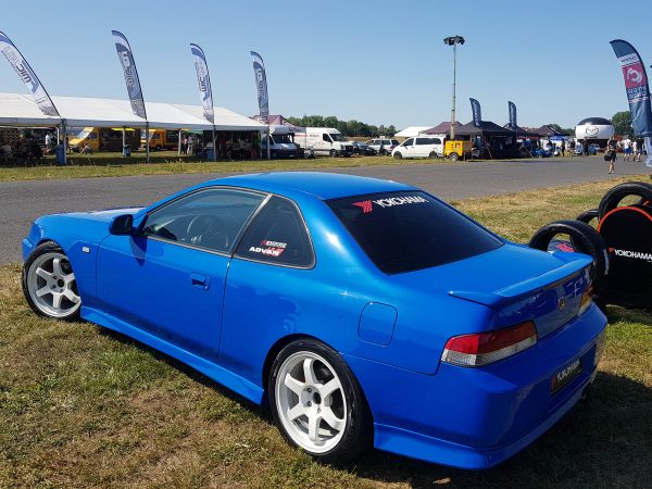 1997 Honda Prelude with a turbo K20 inline-four