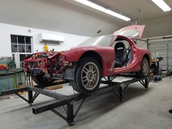 AWD Mazda RX-7 with a Twin-Turbo 26B Four-Rotor