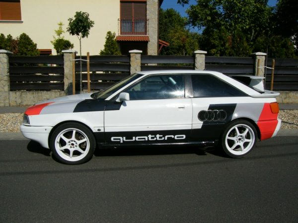 Audi S2 with a 6.0 L W12