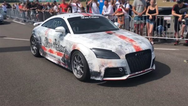 Audi TT RS with a Turbo R30 VR6