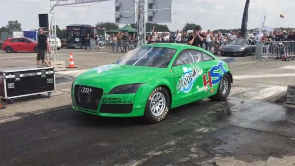 Audi TT with a turbo VR6