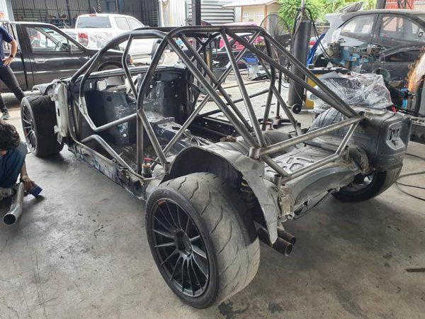 Carbon Fiber E46 M3 with a S65 V8