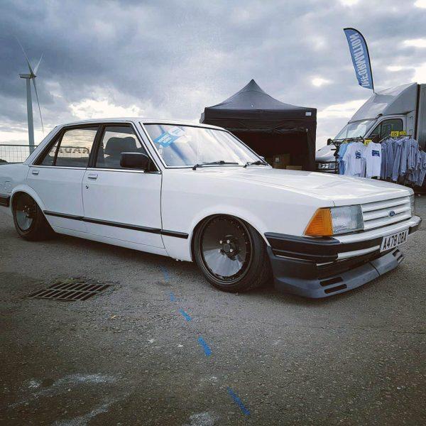 Ford Granada with a BMW M57 diesel inline-six