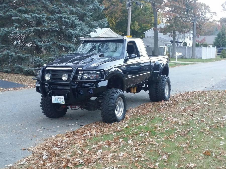Ford Ranger 4x4 with a Twin-Turbo Power Stroke V8