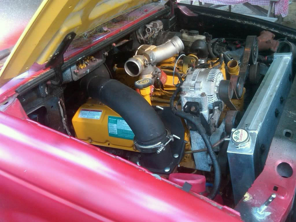 Ford Ranger 4×4 with a Twin-Turbo Power Stroke V8 – Engine