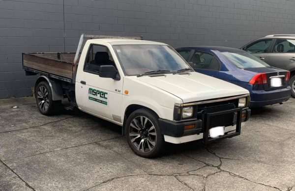 Nissan D21 truck with a Turbo VQ30DET V6