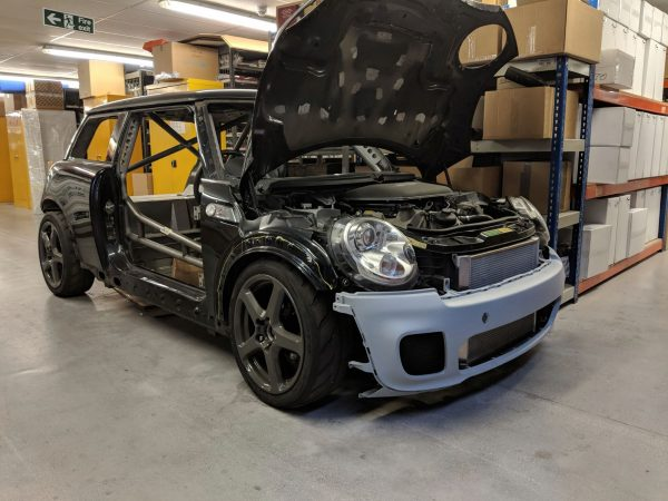 RWD Mini with a BMW S65 V8