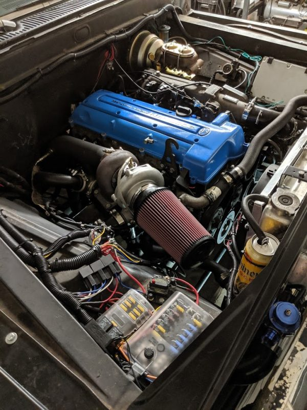 1966 Ford F-100 with a 2JZ-GTE Inline-Six Update – Engine