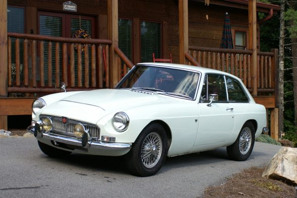 1969 MGB GT with a 3.4 L Chevy V6