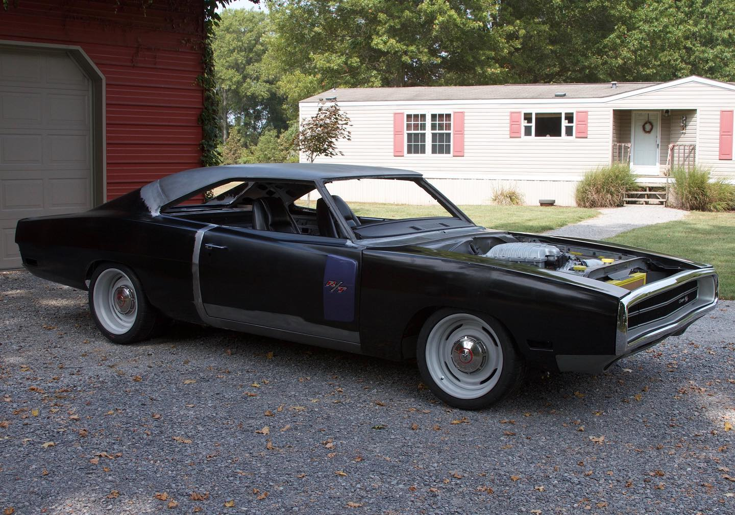1970 Charger With A Hellcat V8 Engine Swap Depot