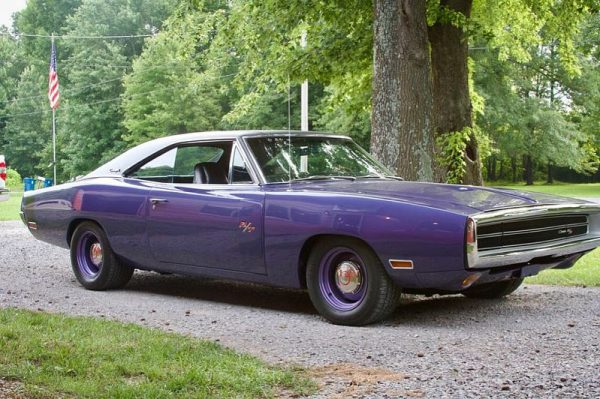 1970 Charger RT with a supercharged Hellcat V8