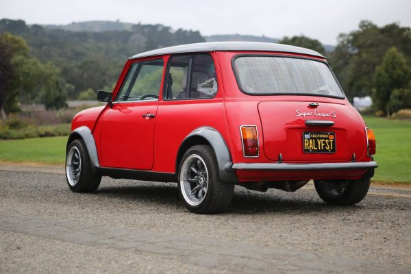 1974 Mini with a supercharged 3.5 L Acura V6