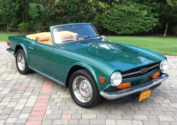 1975 Triumph TR6 with a Ford turbo 2.3 L inline-four