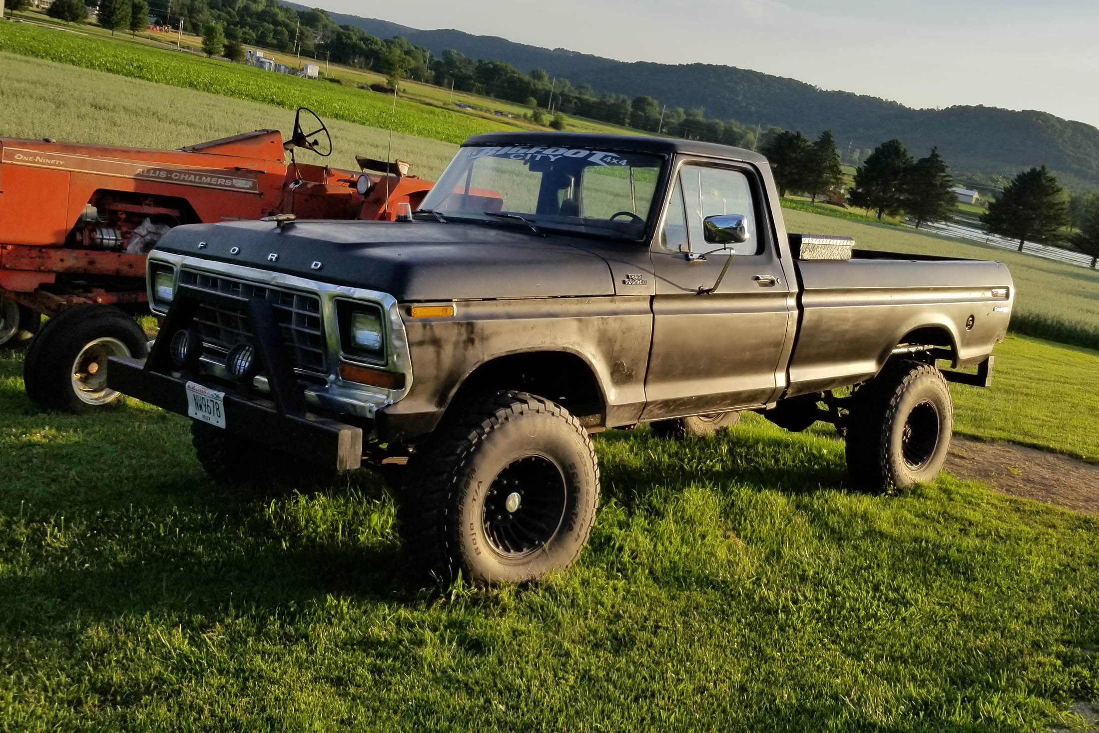 [SCHEMATICS_44OR]  1978 Ford F-250 with an Allis-Chalmers Turbo Diesel Inline-Six – Engine  Swap Depot | 78 Ford F 250 Wiring Harness |  | Engine Swap Depot