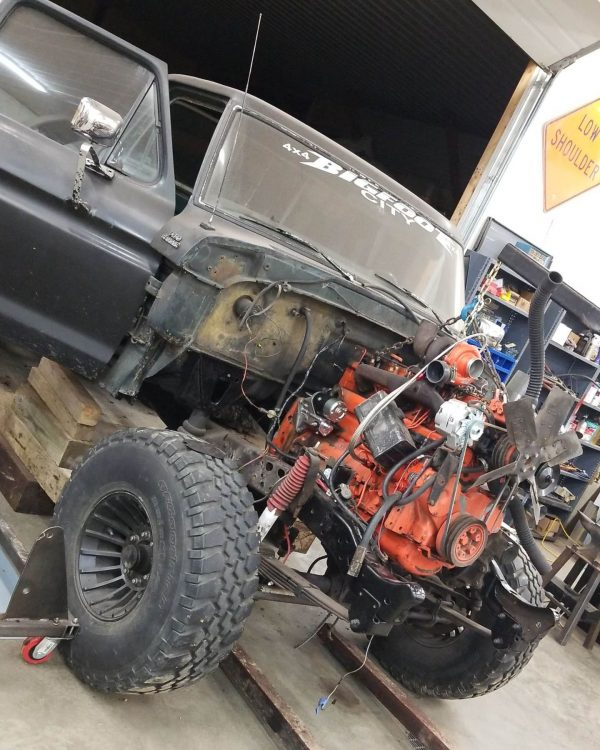 1978 Ford F-250 with an Allis-Chalmers Turbo Diesel Inline