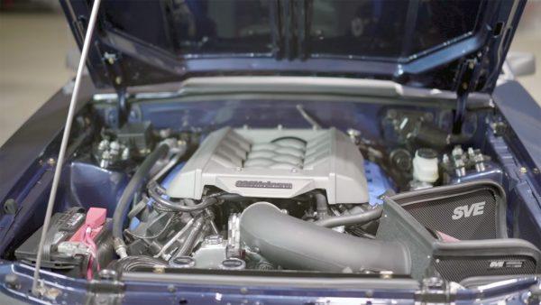 1985 Mercury Capri with a Coyote V8