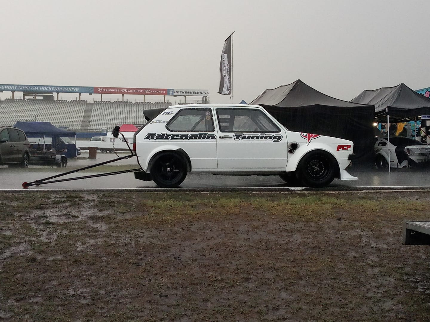 Adrenalin Tuning Golf Mk1 with a turbo 2.0 L 16v inline-four