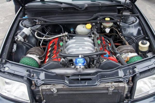 Audi S4 with a Twin-Turbo V8