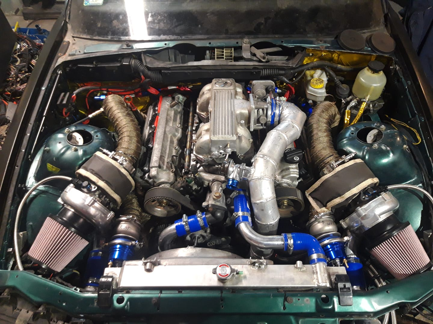 BMW E36 with a Twin-Turbo 1UZ V8