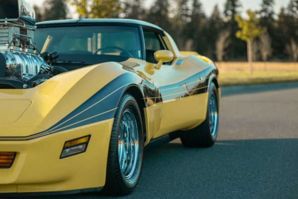 Corvette C3 with a Supercharged 454 V8