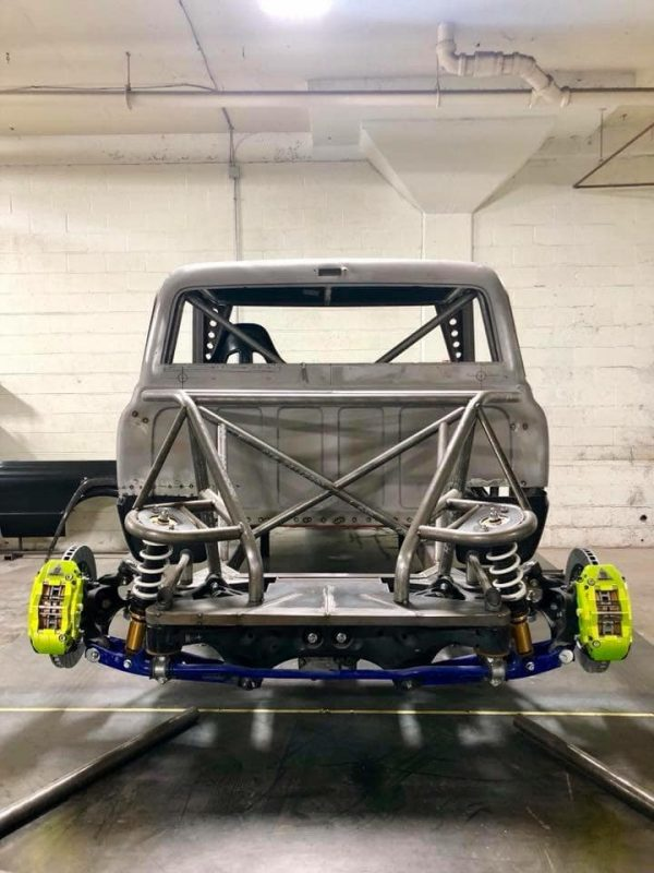 Custom C10 Truck with a Subaru STI Powertrain