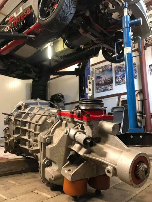Drift BMW E30 with a LSX 454 V8