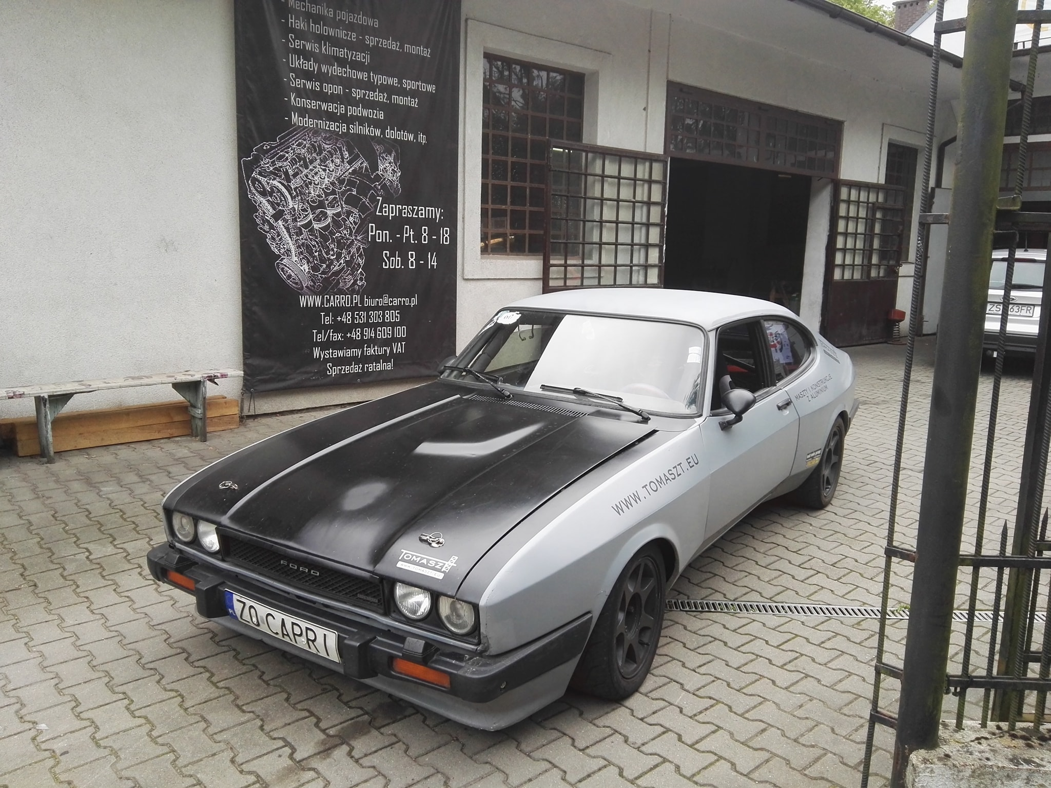 Ford Capri Mk3 with a Turbo Cosworth V6