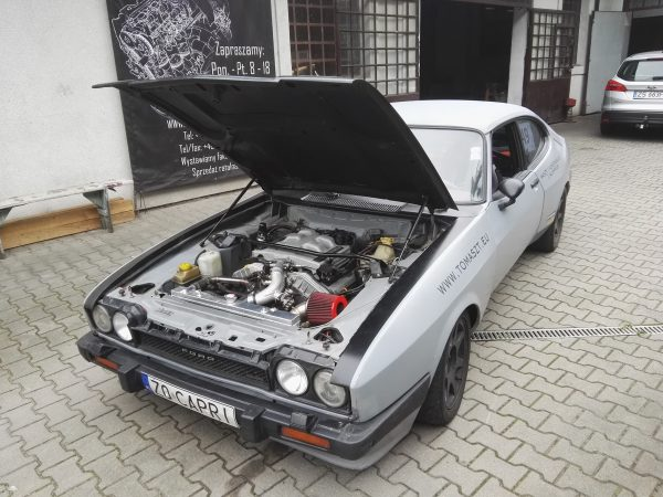 Ford Capri Mk3 with a Turbo Cosworth V6