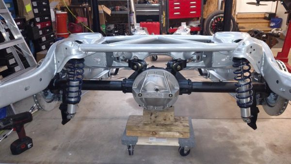 reinforced Grand National frame with Detroit Truetrac LSD with Moser 30 Spline axles