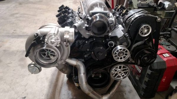 turbocharged Buick 3800 V6