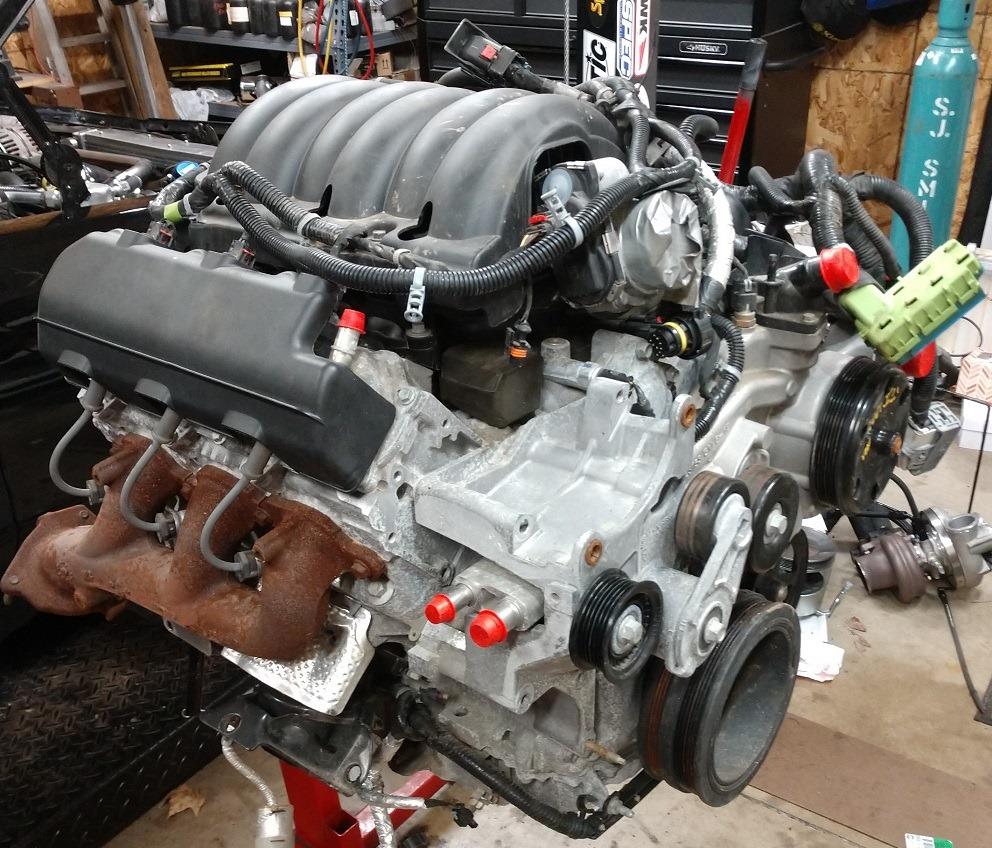 Grand National With A Turbo 4 3 L Ecotec V6  U2013 Engine Swap
