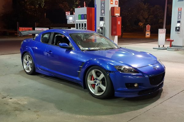 Mazda RX-8 with a Twin-Turbo 3.1 L V6