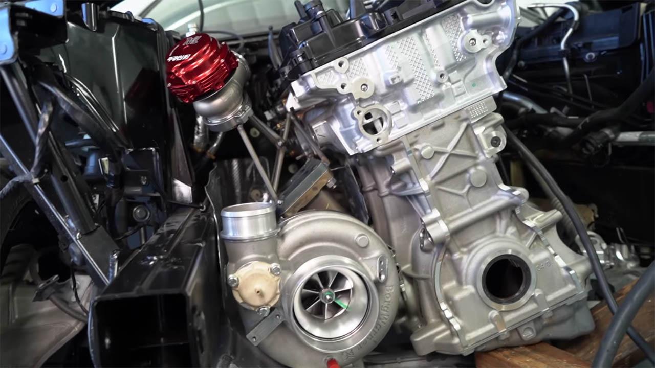 Papadakis Racing 1000 hp B58 inline-six
