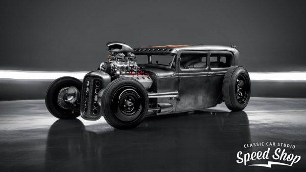 1930 Ford Model A with a Supercharged 331 ci HEMI V8