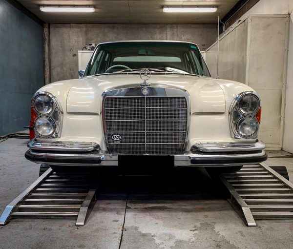 1966 Mercedes 250SE with a Turbo Barra Inline-Six