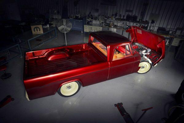 1968 Dodge D200 with a 5.9 L Cummins Diesel Inline-Six