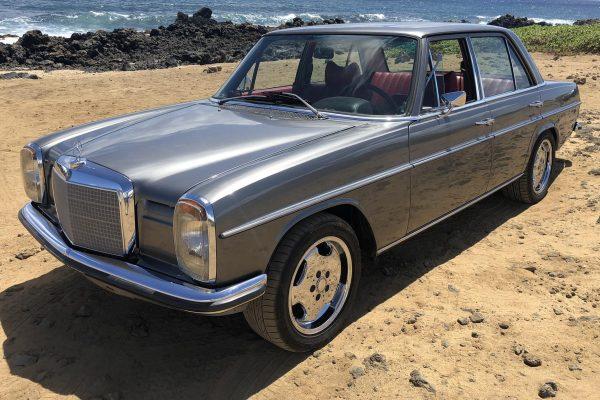 1969 Mercedes 230 W114 with a 6.0 L L76 V8